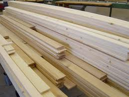 Heh-heh. Wood.