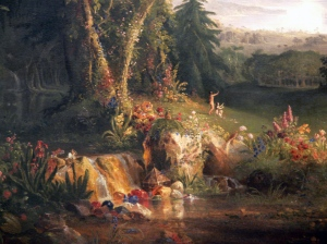 Painting by Thomas Cole.