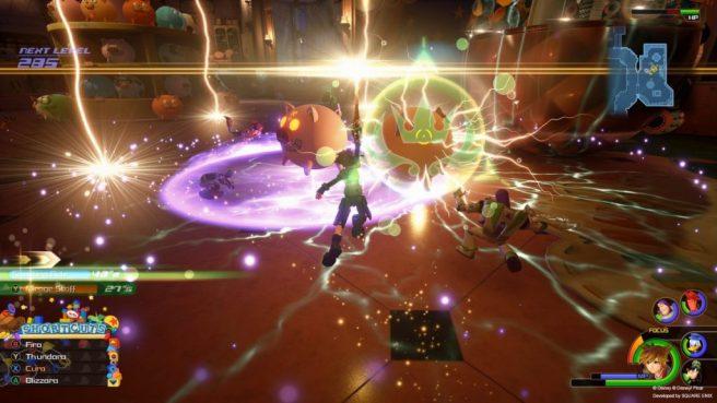 kh3 gameplay
